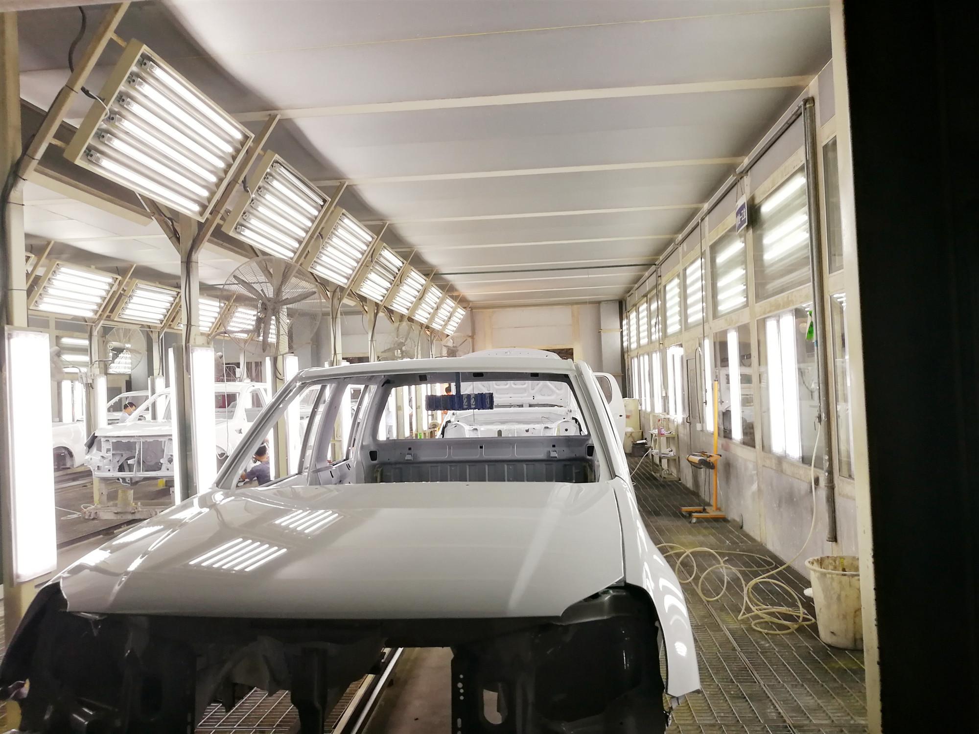 海南汽车涂装生产线