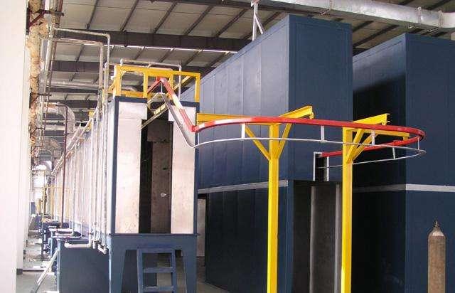 海南粉末静电喷涂设备有哪些组成?