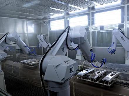 海南机器人涂装设备
